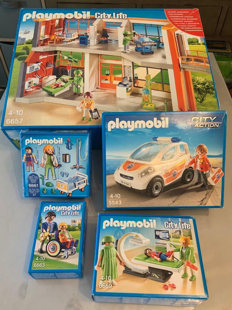 Playmobil Hospital Set | in Chesterfield, Derbyshire | Gumtree