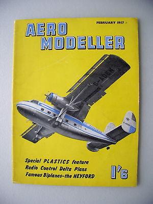 Aero Modeller I'6 Februar 1957  Modellbau model making