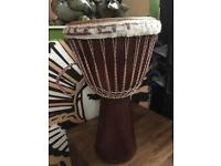 large african djembe from ghana