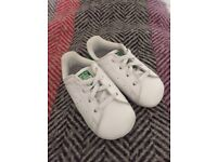 Adidas Stan Smith Baby Shoes. Perfect Condition.