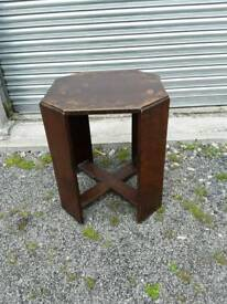 Octagonal occasional or coffee table