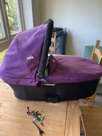 SOLD..Joie Baby Carry Cot- Never Used