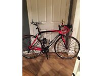 Pinarello rokh with mavic ksyrium sl wheels, road bike, racing bike