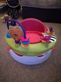 Mamas & papas bumbo with play tray