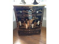 Stunning Chinese/oriental furniture mother of pearl from John Lewis
