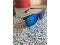 Men's RayBans, blue polarised