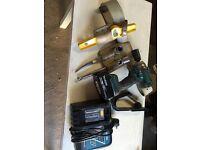 Makita Impact wrench and belt