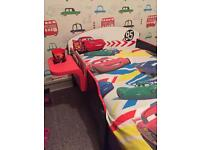 Kids bed (Disney car bed)