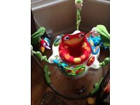 Jumperoo for sale almost as new condition as barely used. £50 ONO