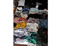 Bundle of Ladies clothes, 44 Pretty blouses/Tops - size 14 & 16 most not been worn