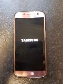 Samsung galaxy s7 pink 32g