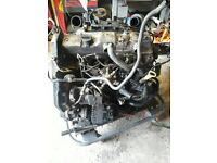 Ford Complete engine 1.8 Diesel many new parts 104k miles.......!!!!!!!