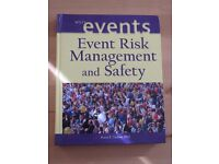 Event Risk Management and Safety (text book)