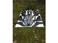 Yamaha R125 2015 full fairing/panel set with digital clock