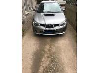 Subaru wrx 2.5 07 reg