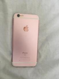 iPhone 6s 32GB ROSE GOLD UNLOCKED *cracked screen*