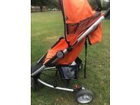 Holiday pram pushchair stroller like a quinny zapp