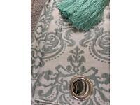 Teal curtain bundle