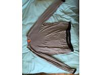 Hugo Boss Long sleeved top Silvery/Grey Large