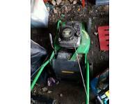 John Deere R54s petrol lawn mower