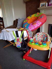 Baby job lot items