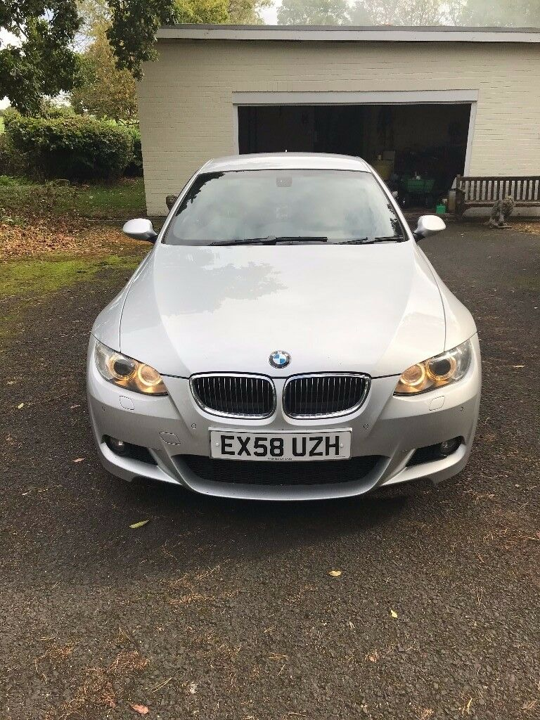 """BMW 335d M-Sport - Silver, 19"""" Alloys, Heated Leather, Nav, Paddle Shift"""