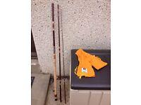 Daiwa 3 piece 3.30m fishing rod