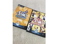 The Sims Double Deluxe and On Holiday Expansion Pack
