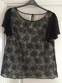 Monsoon top new without tags size 20
