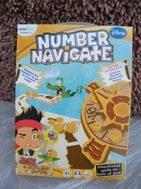 Jake and The Neverland Pirates Number Navigate New In Box