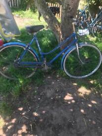 Vintage bike triumph