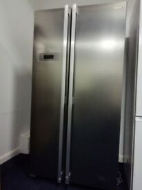 NEW Silver Kenwood KSBSX17 American Style Fridge Freezer RRP - £499