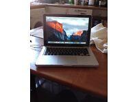 Apple MacBook (2010) 2.4 GHz Intel Core 2 Duo 4GB RAM 500GB HDD