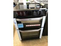 Ex display BELLING FSE60DO Electric Ceramic Cooker - Stainless Steel