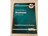 CGP AQA A-Level Business Year 2 Sept 2015 onwards