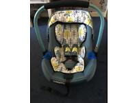 Cosatto Port Car Seat (Fjord) with Isofix Base