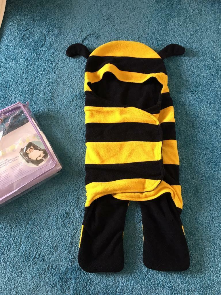 Babies R Us Bumble Bee Car Seat Wrap