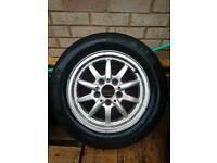 "15"" BMW 5x120 alloy wheel 7j"