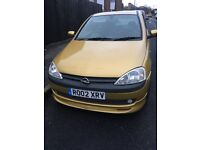 Opel Corsa Uk registered from new