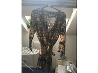 Boohoo playsuit size 16 brand new