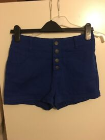 Women's high waisted shorts
