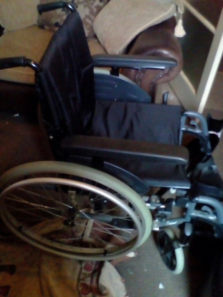Wheel chair with big wheels