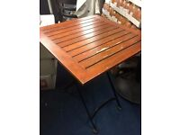 Used outdoor wooden tables for cheap sale