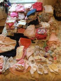 Huge bundle 3-6 months girls clothes
