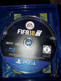 FIFA 18 game for sale brand new