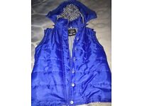 Royal blue body warmer