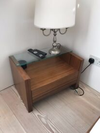 Two bedside cabinets.