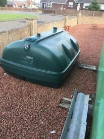 Oil tank 1200 litre other tanks available can be delivered
