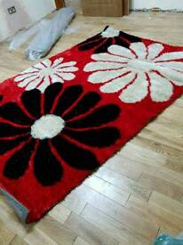 brand new rugs in different sizes and colours