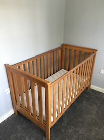 Mothercare cot bed for sale.